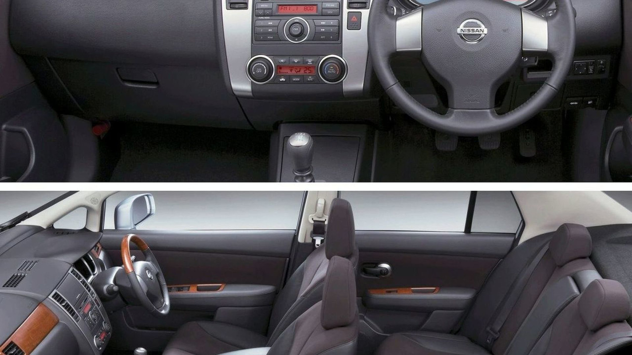 nissan tiida facelift revealed rh motor1 com Nissan Nismo Tiida Nissan Tiida Latio Hatchback