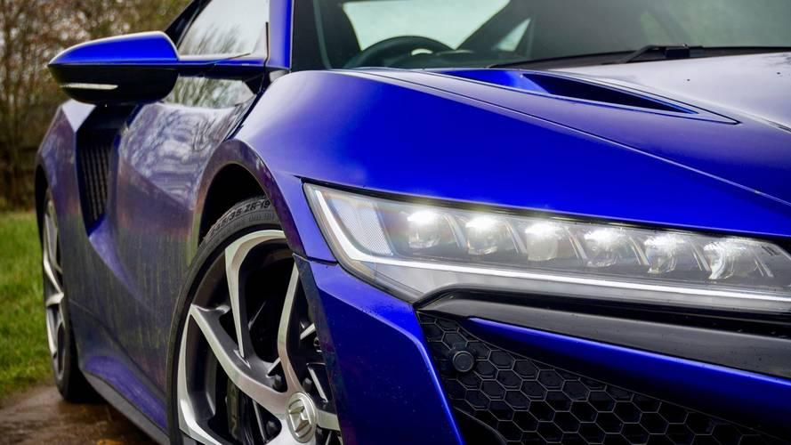 2017 Honda NSX Nouvelle Blue