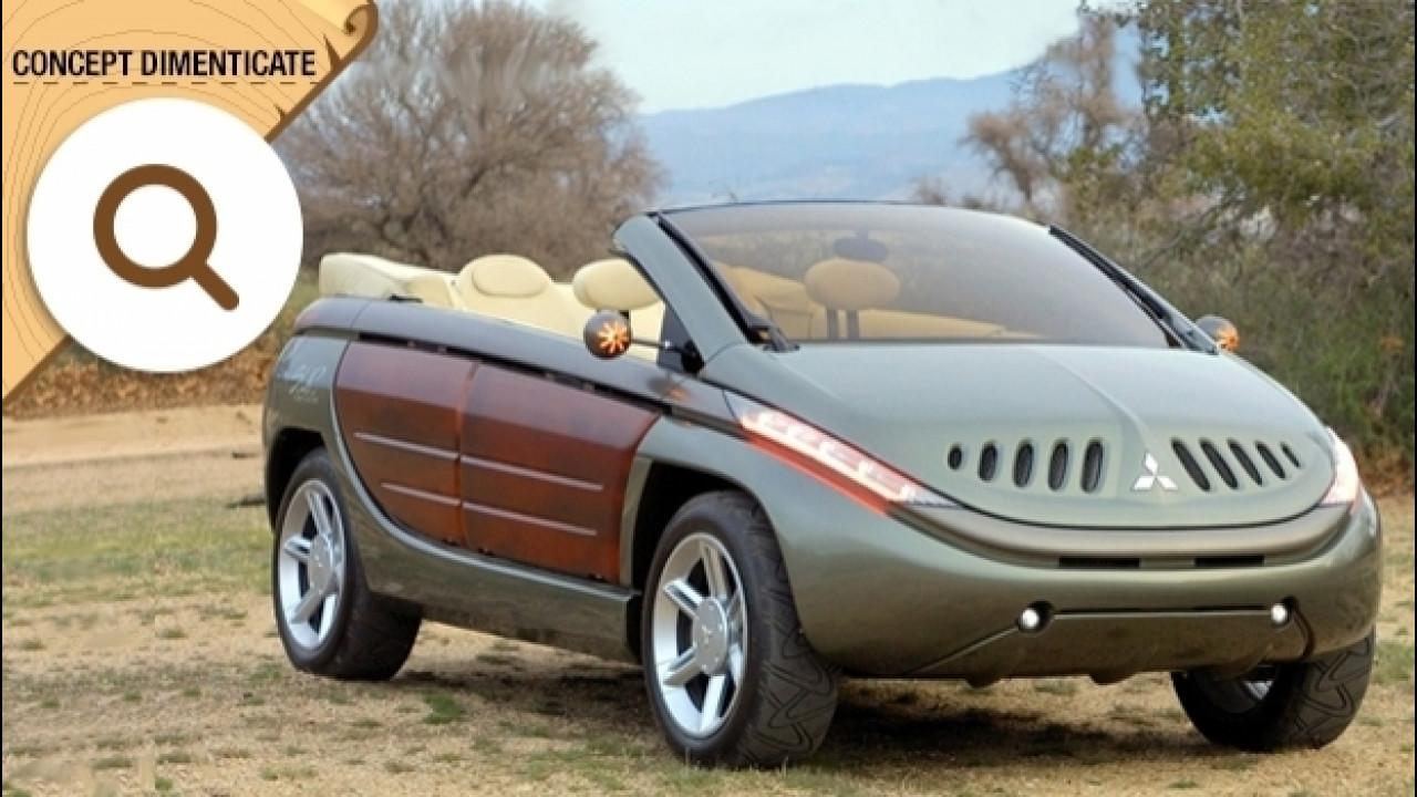 [Copertina] - Mitsubishi SUP, la 4x4 cabrio con gli sportelli trasparenti