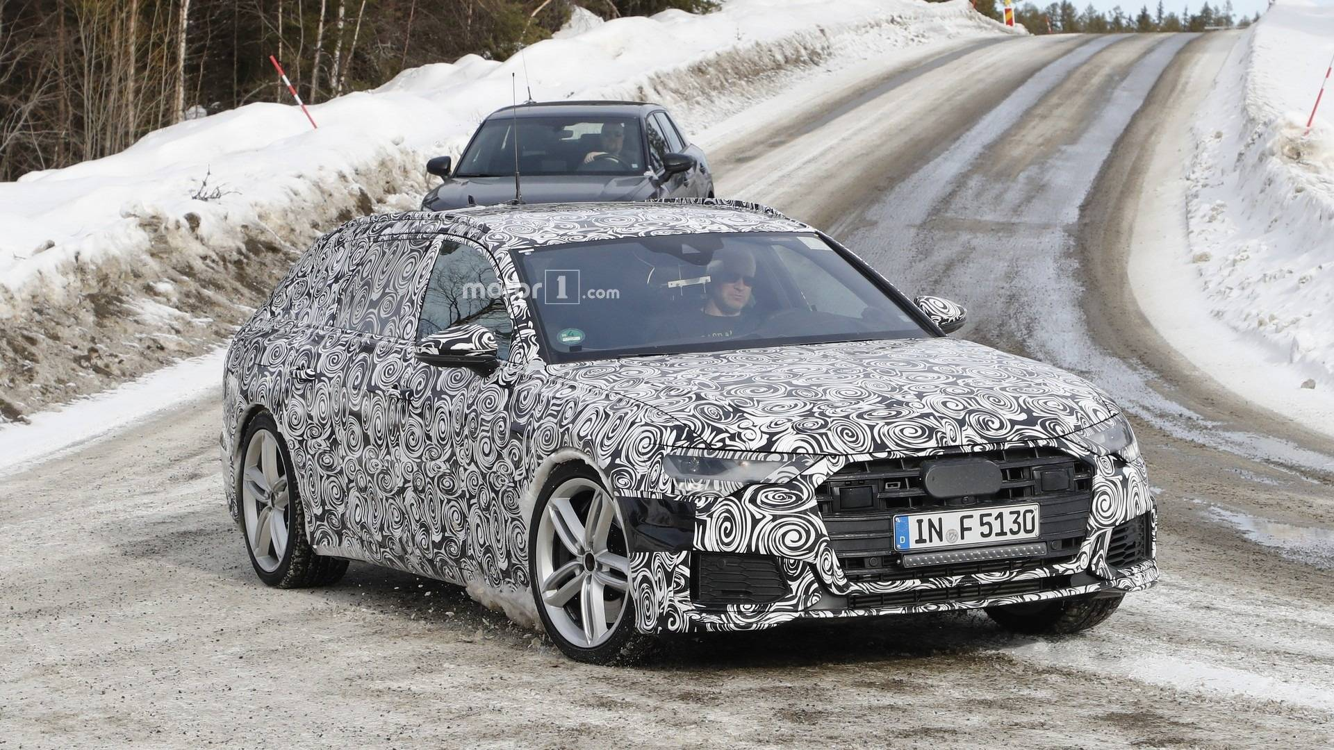 New Audi S6 Avant Spotted Up Close Missing The Four Rings