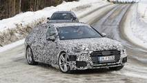 2020 Audi S6 Avant spy photos