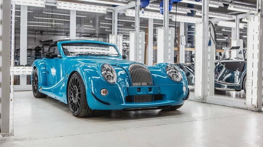First Morgan Aero GT rolls off the line
