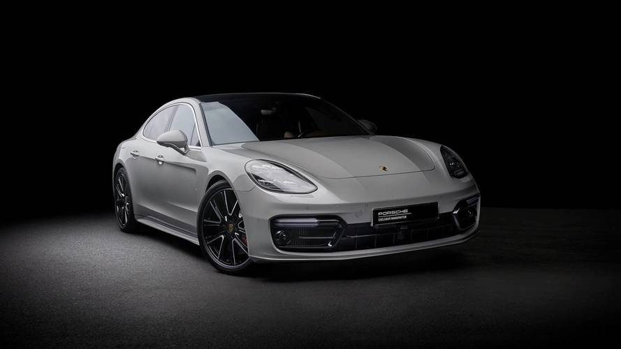 Porsche Exclusive Manufaktur Shows Fancy Panamera Turbo In Crayon