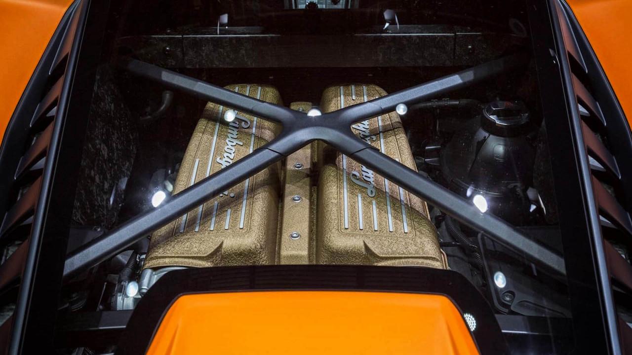 Zehnzylinder: 5,2-Liter-V10 von Lamborghini