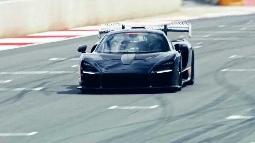 Así suena el McLaren Senna rodando en un circuito