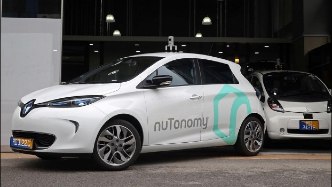 [Copertina] - Guida autonoma, a Singapore in servizio i primi taxi