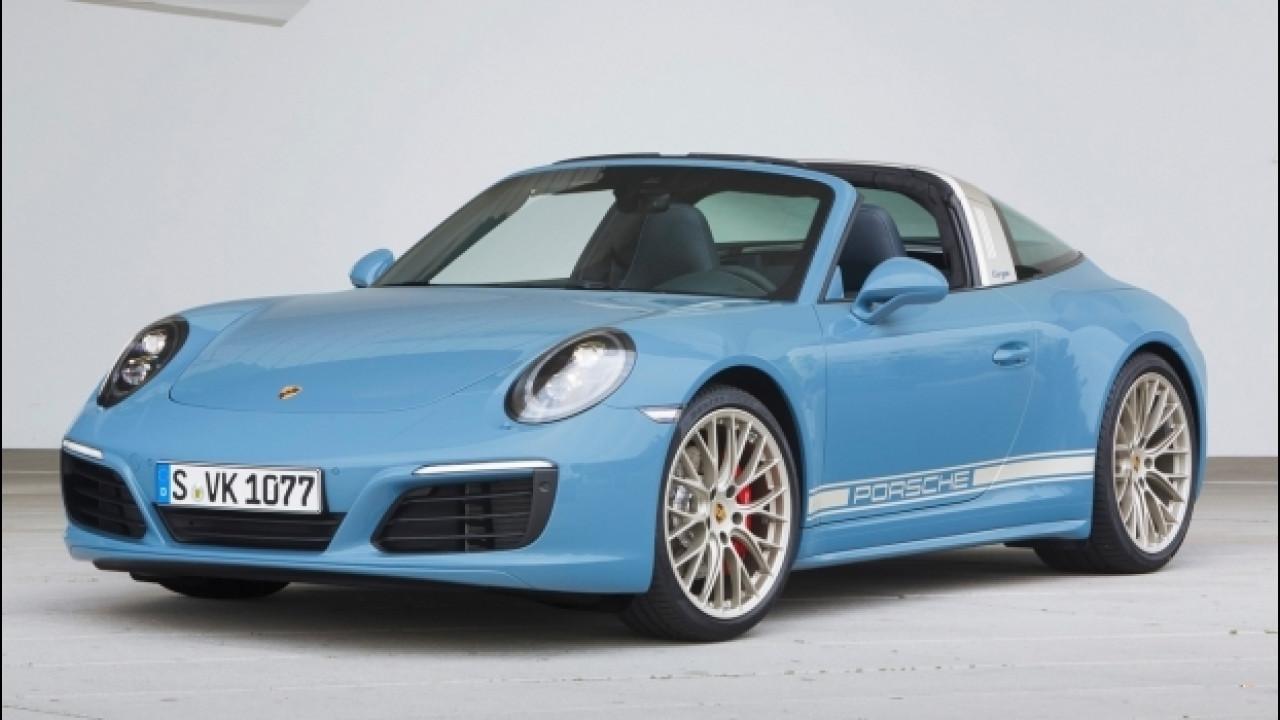 """[Copertina] - Porsche 911 Targa 4S Exclusive Design, omaggio ai """"Seventies"""""""
