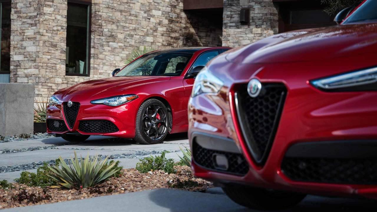 Alfa Romeo Giulia And Stelvio Nero Edizione