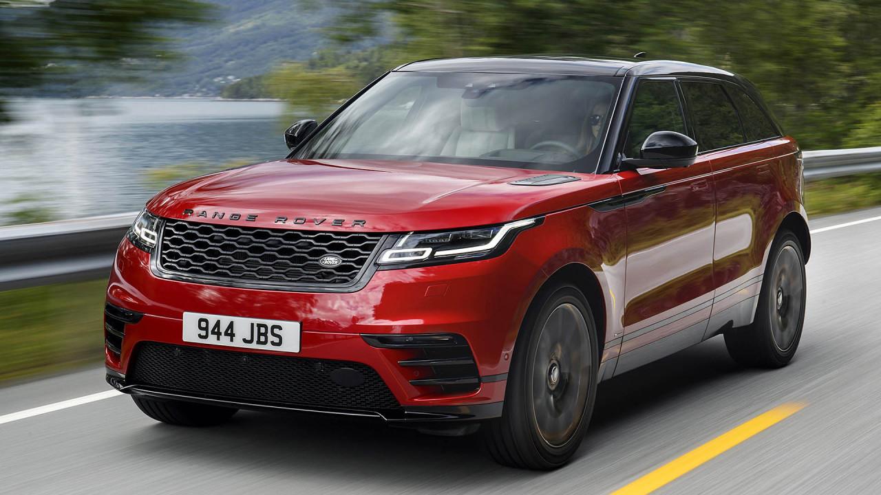 Harte Konkurrenz im Finale: Range Rover Velar