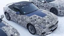 BMW Z4 spy photo