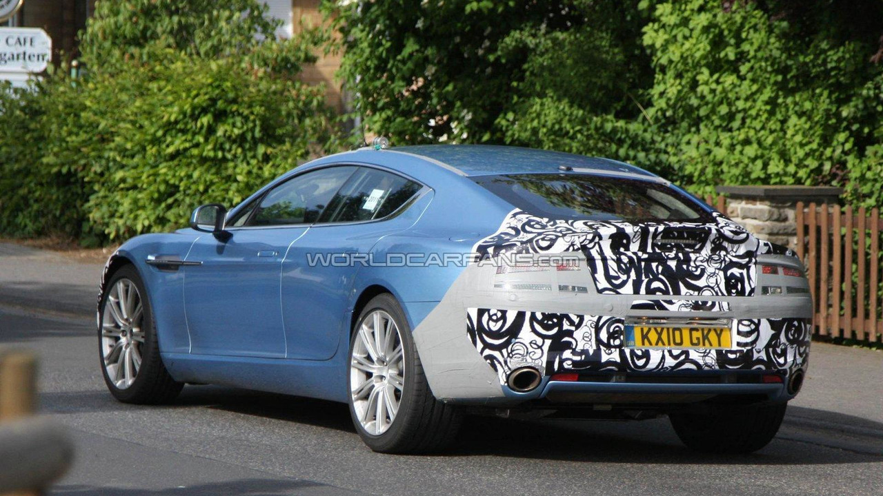 2017 Aston Martin Rapide Facelift Spied 24 05
