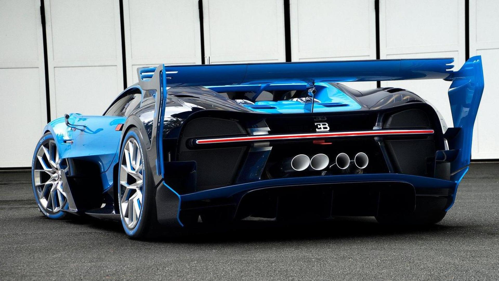 Bugatti Vision Gt >> One Off Bugatti Vision Gt Dissected On Video