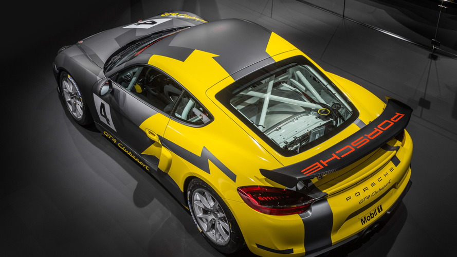 Porsche Cayman GT4 Clubsport races into LA with 380 bhp