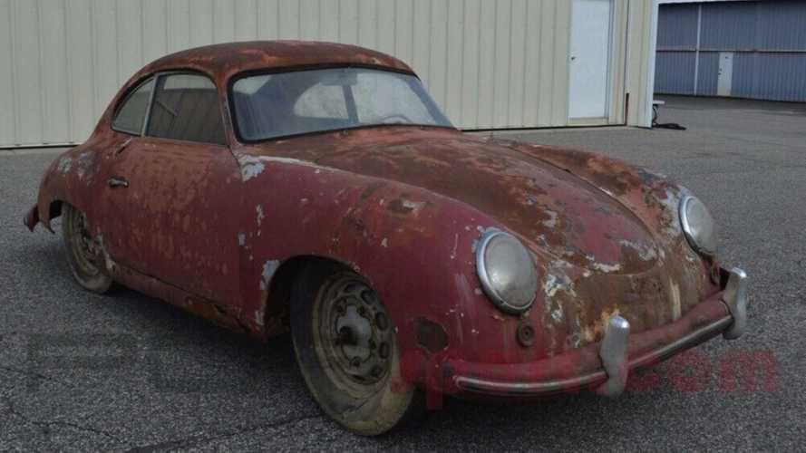 Cette Porsche 356 Pre-A 1952 sortie de grange cherche un nouveau foyer