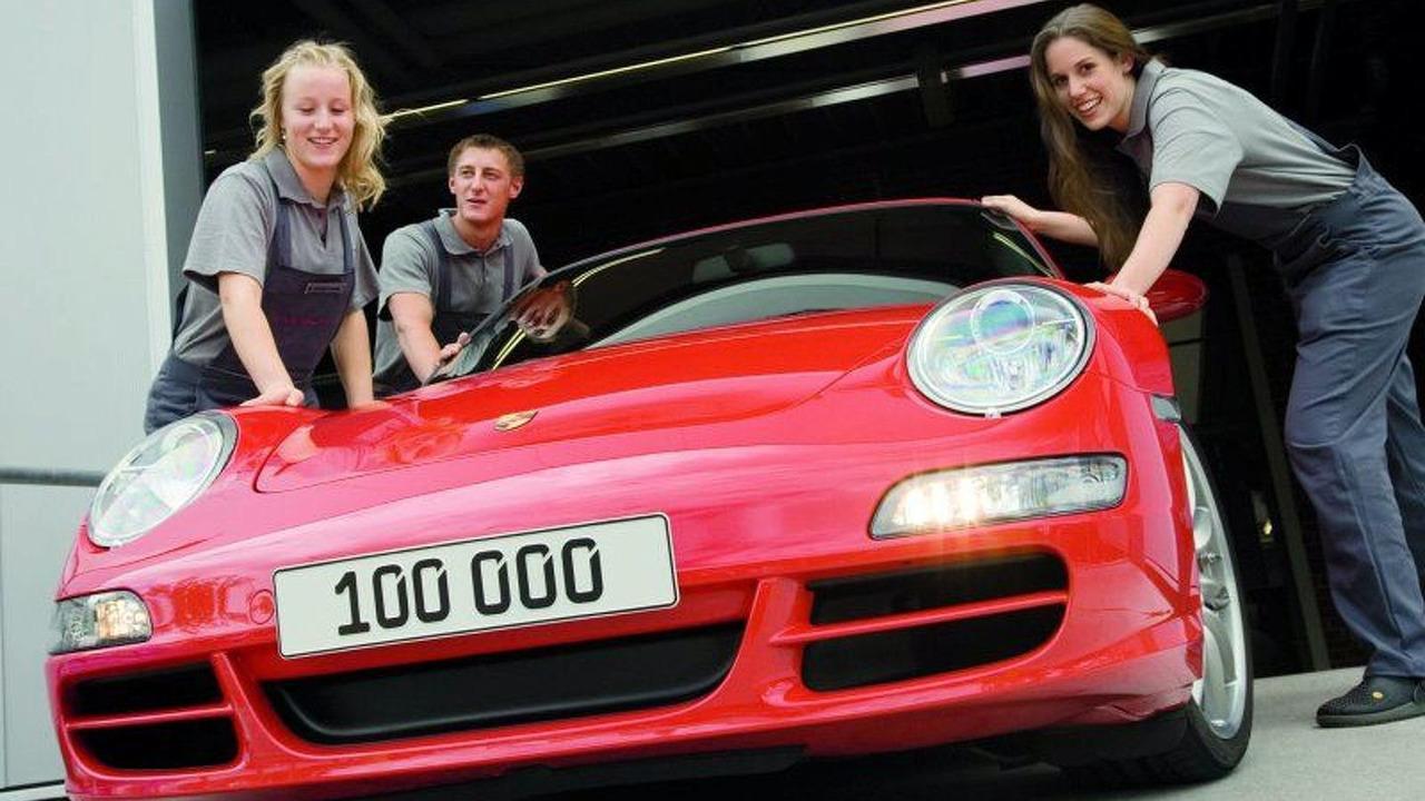 100,000th Porsche 911 (997)