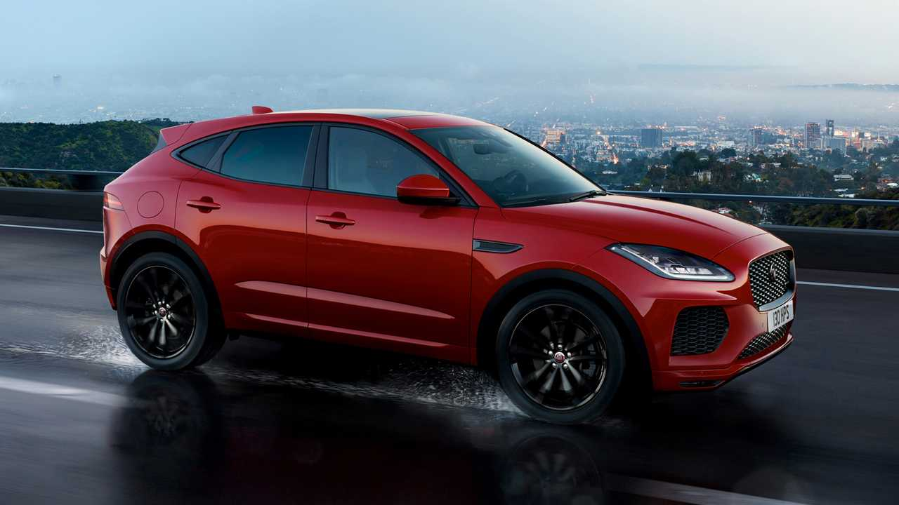 Jaguar E-PACE Black Edition 2018