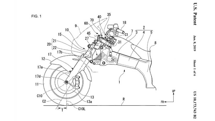 Steering Assist Next On Honda's List Of Bike Techs?