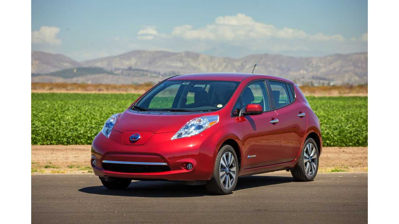 Nissan LEAF To Go On Sale In South Africa Later This Year