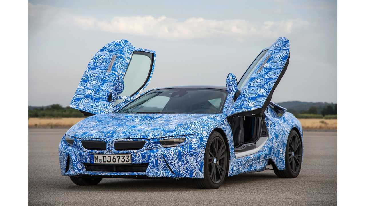 BMW CEO Admits i8 Won't Compete With Tesla Model S