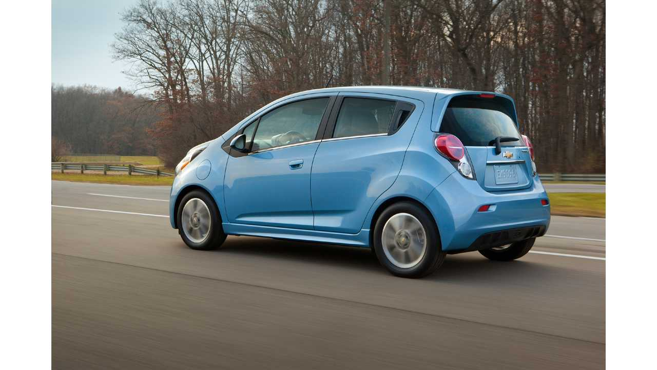 Real-World Test Shows Chevy Spark EV Has Substantially More Range Than Nissan LEAF @ 62 mph (w/video)