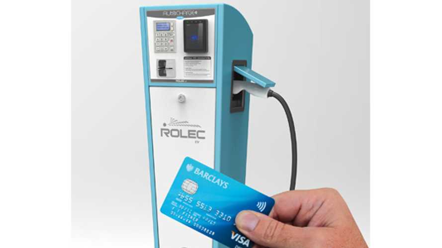 Rolec Introduces UK's First Chip and Pin Payment Method for Public Charging