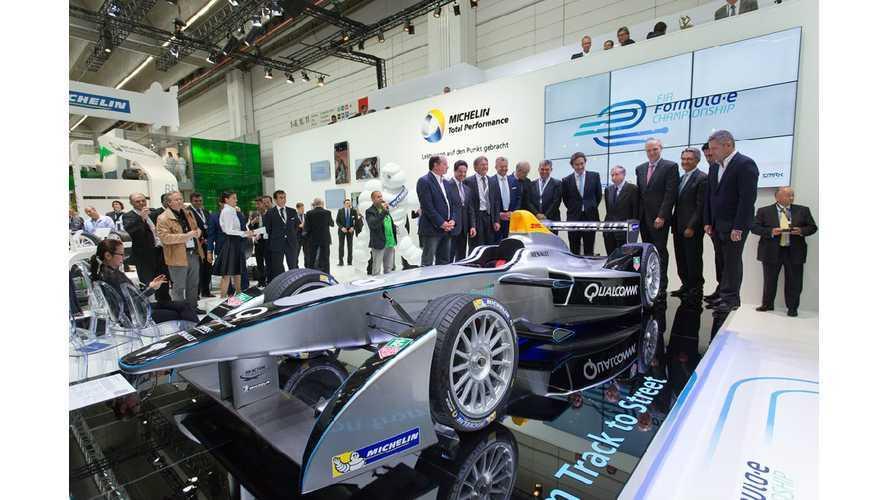 Formula E Spark-Renault SRT_01E: Photos & Videos From Frankfurt Motor Show