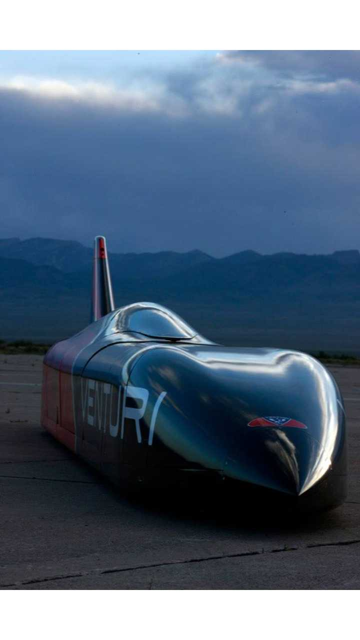 Venturi VBB-3 Gets Unveiled; Flooded Salt Flats Push Back Land Speed Record Attempt to 2014 (w/videos)
