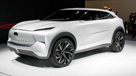 Infiniti QX Inspiration Concept anticipates brand's electric future