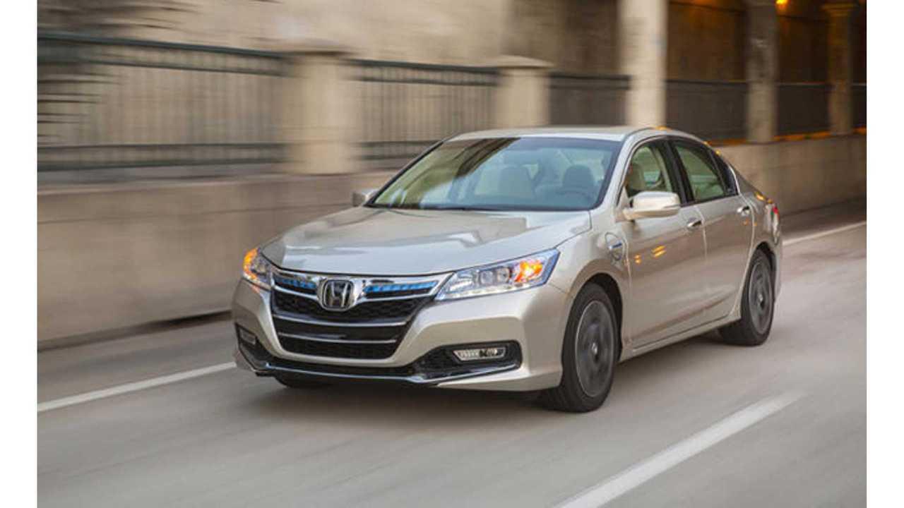 2014 Honda Accord Plug-In Hybrid Priced At $39,780.  13 Miles Of Range, 115 MPGe