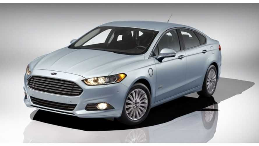 Ford Fusion Energi Gets Official Rating of 100 MPGe Combined