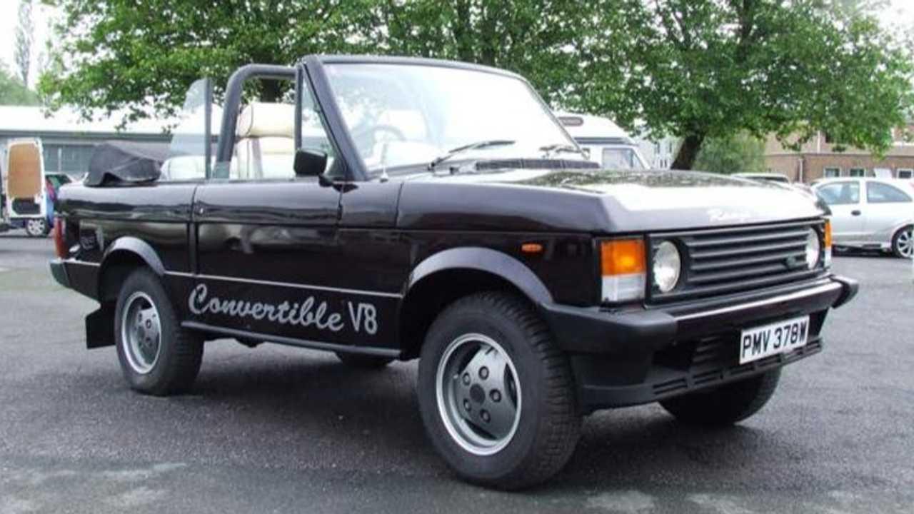 Range Rover V8 Convertible