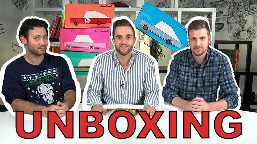 Watch Us Unbox CandyLab's Adorable Toy Cars