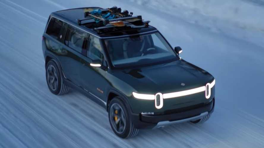 Rivian R1T Truck & R1S SUV Hit The Slopes At 11,000 Feet: Video