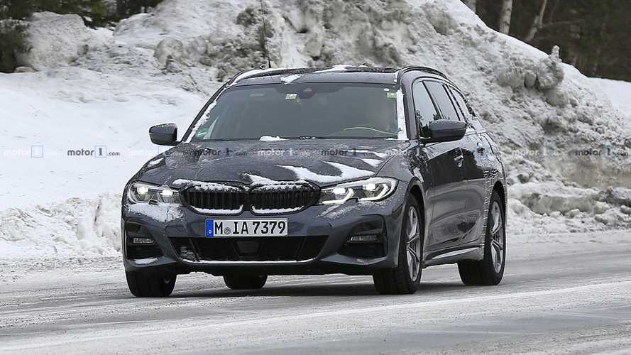 2020 BMW 3 Series Touring Spy Photos
