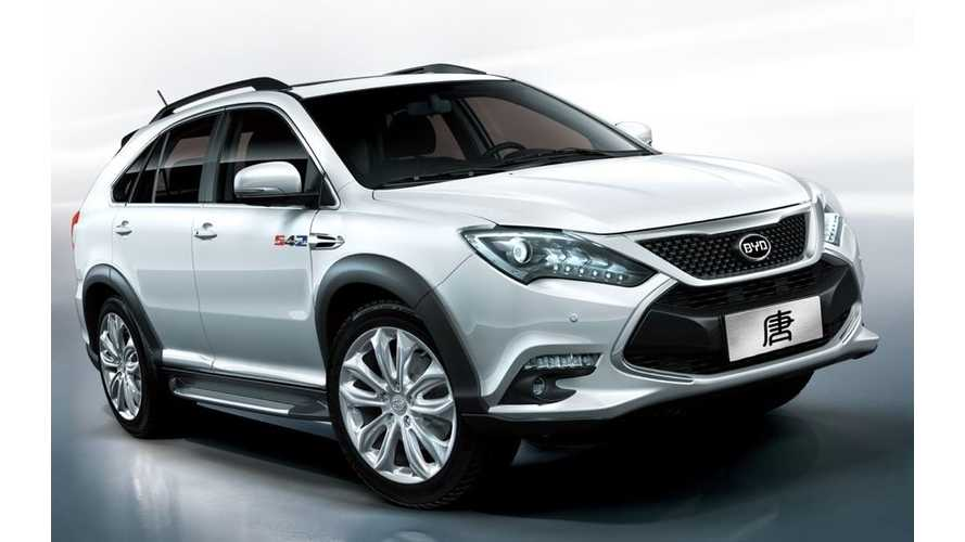 BYD Unveils Tang Plug-In Hybrid CUV