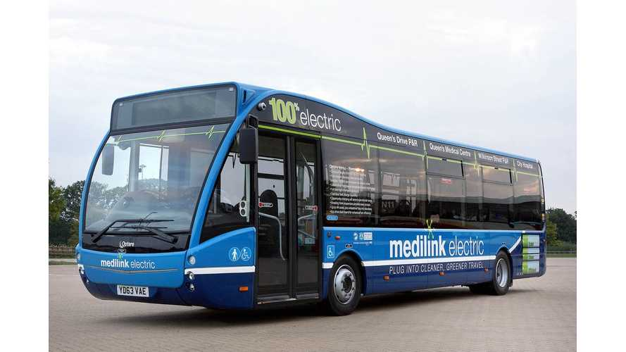 Manchester Orders Its First Electric Buses