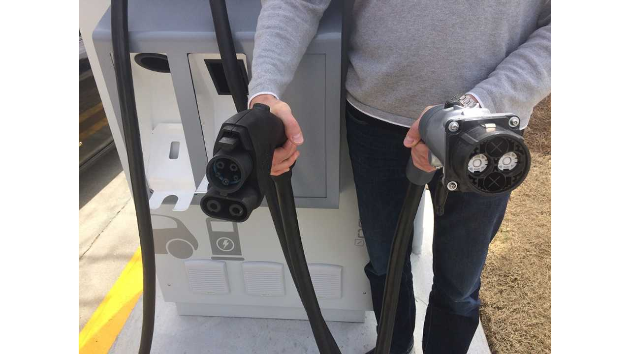 On The Scene: First Dual Combo/CHAdeMO Charger On The East Coast Goes Live