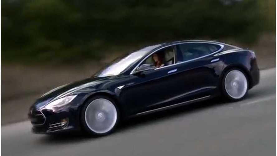 Tesla Model S 60 Minutes Sound Parody - Video
