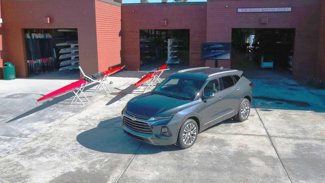 Chevrolet Blazer 2019: Первый диск