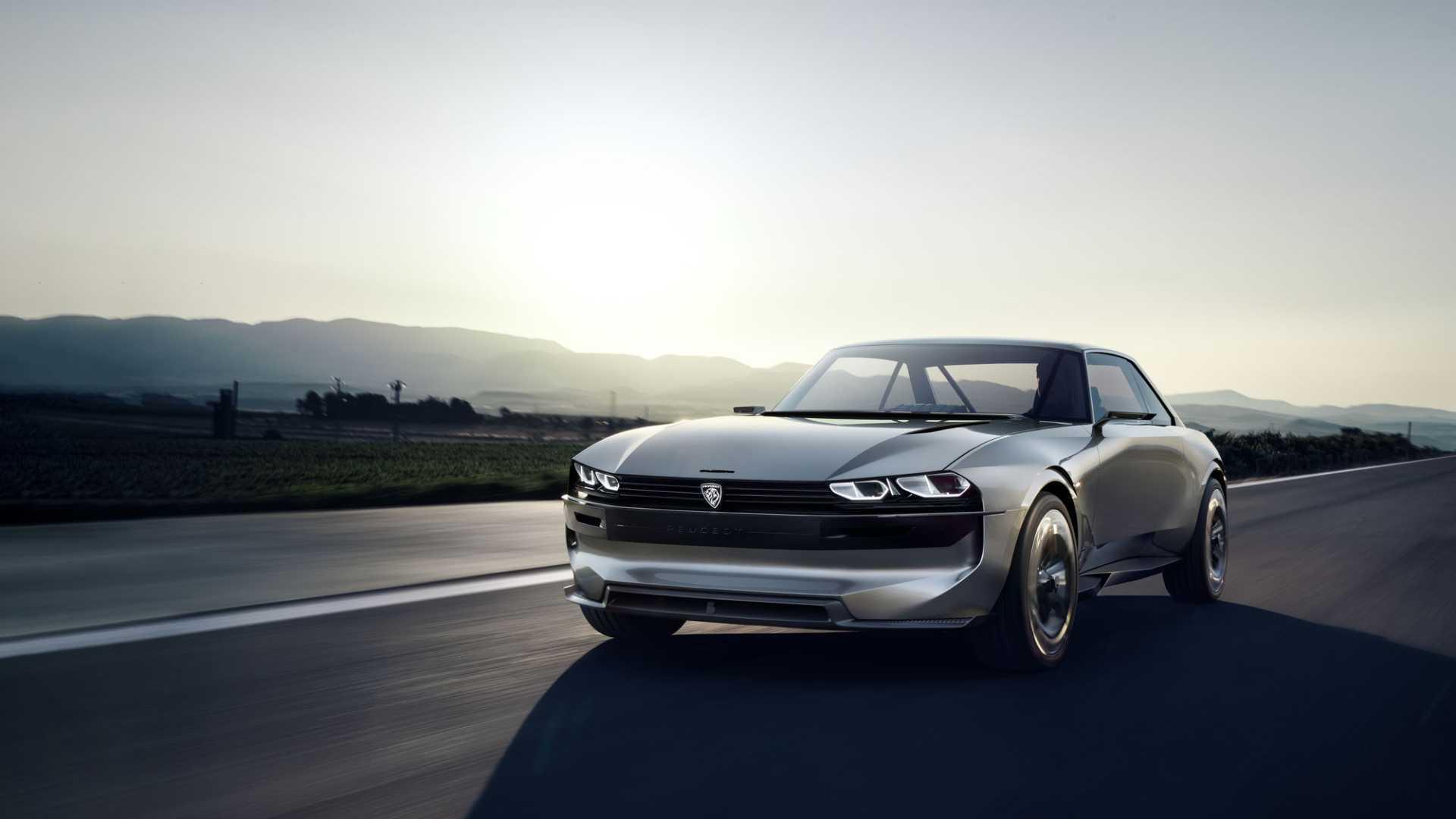 """[""""Peugeot e-LEGEND Concept""""]"""