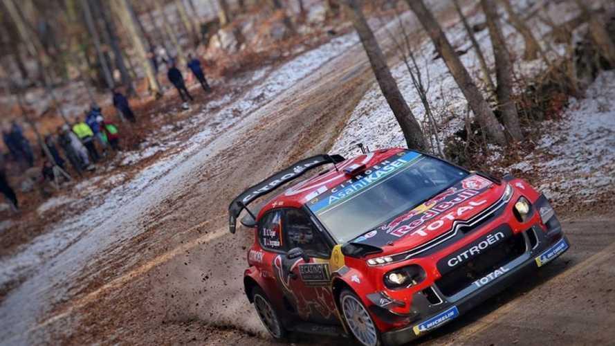 Citroen e Sebastien Ogier vincono il Rally di Montecarlo