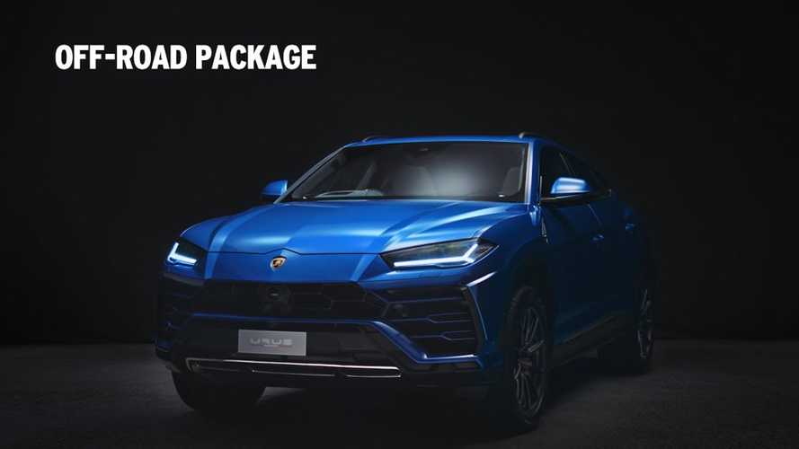 Lamborghini Urus Off-Road, Washing Packages Detailed On Video