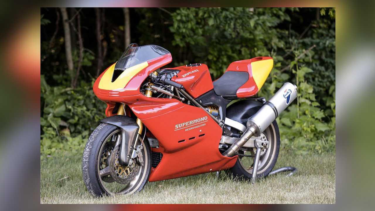 1993 Ducati Supermono - $115,000