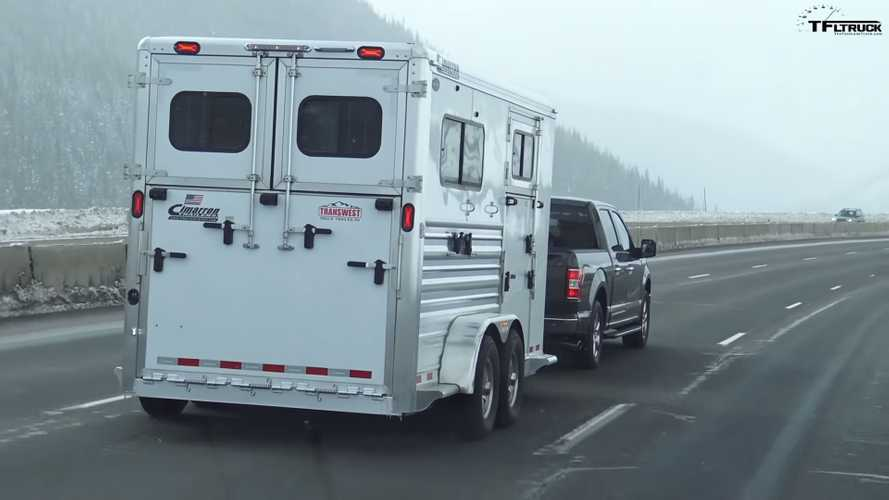 Ford F-150 EcoBoost Vs. Coyote Towing Test