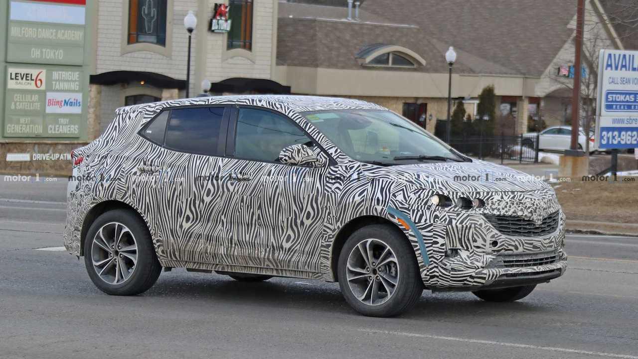 2020 Buick Encore Drops Heavy Camo In Latest Spy Photos