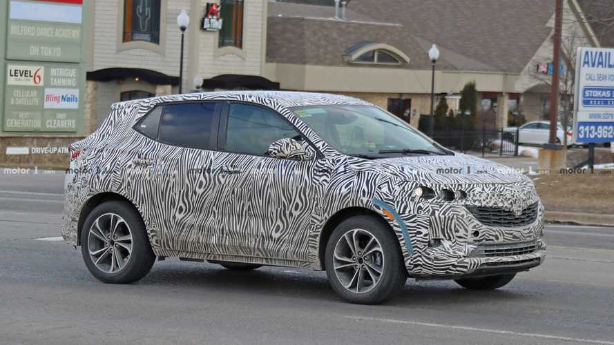2020 Buick Encore Drops Heavy Camo In Latest Spy Photos