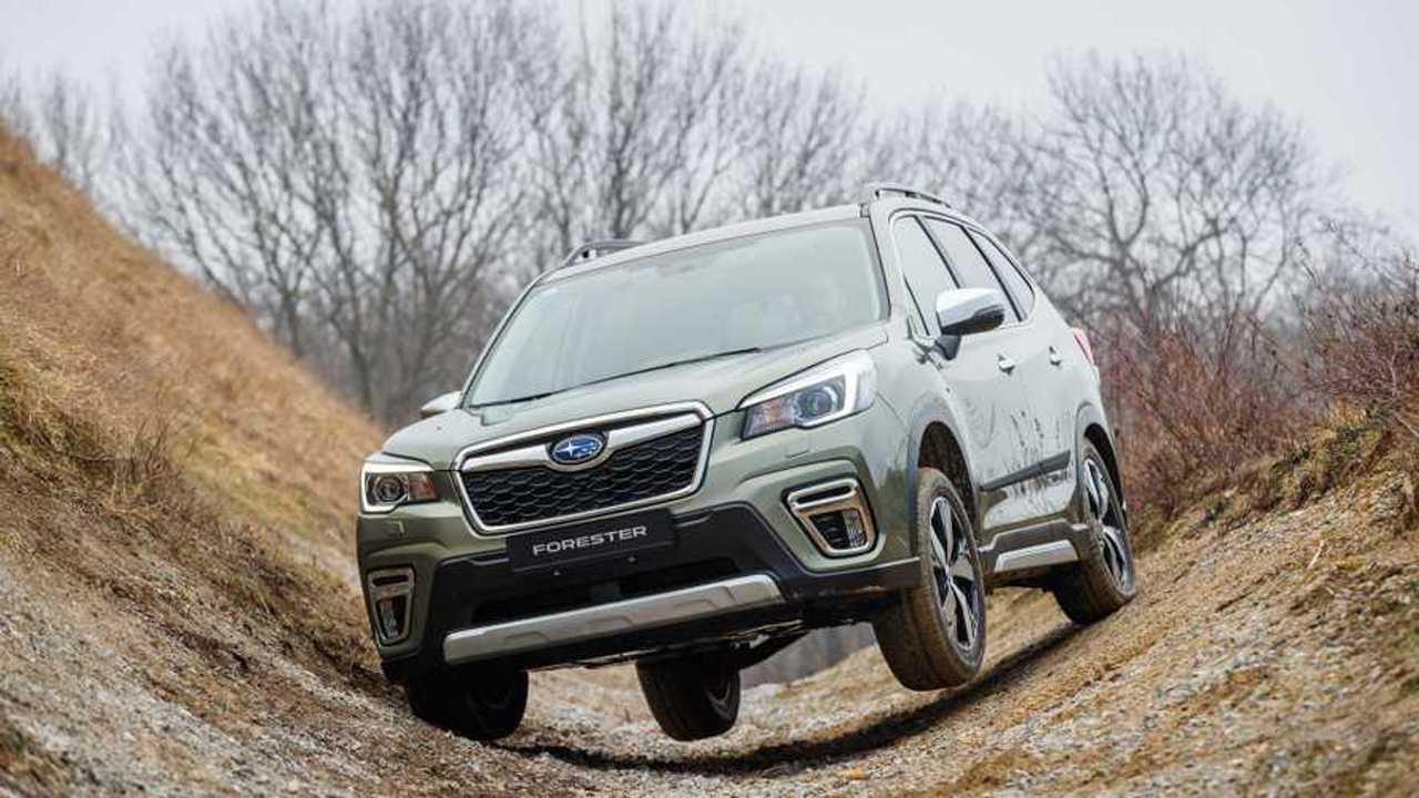 Subaru XV y Forester e-Boxer 2019
