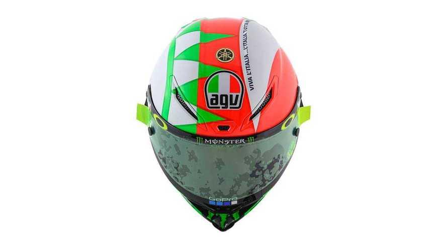 AGV Pista GP R Rossi Tricolor Special