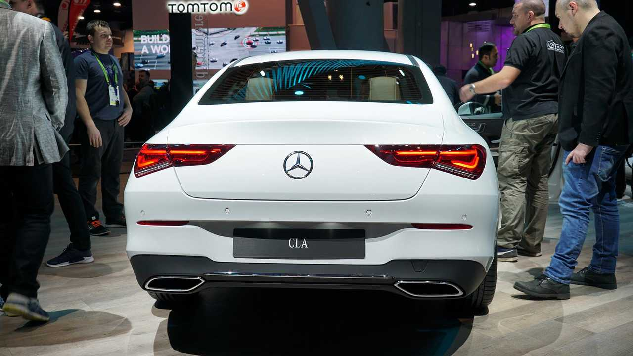 2020 Mercedes CLA-Class Debuts With Svelte Shape, 221 HP On