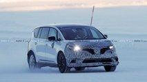 2019 Renault Espace facelift spy picture